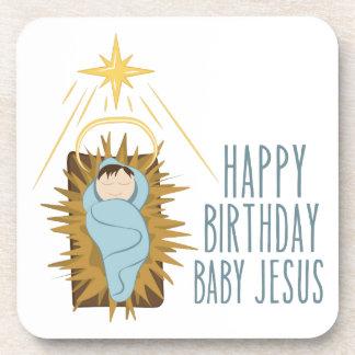 Feliz aniversario Jesus Porta-copo