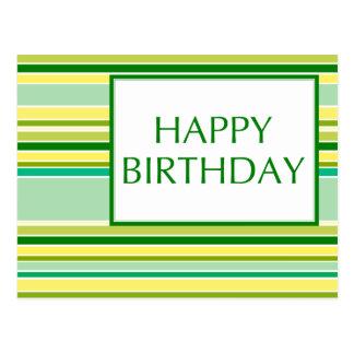 feliz aniversario (lemonLime) Cartão Postal