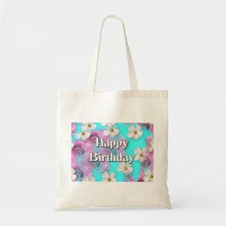 Feliz aniversario bolsa de lona