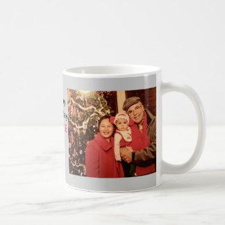 Feliz aniversario personalizado caneca de café