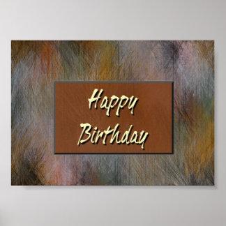Feliz aniversario pôster