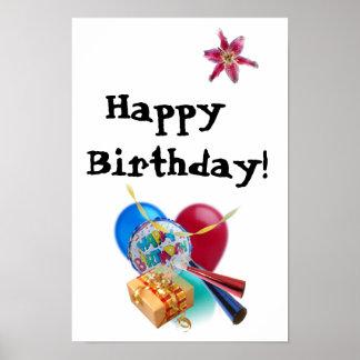Feliz aniversario! pôster
