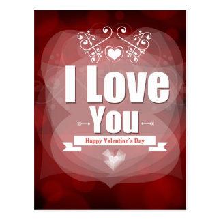 Feliz dia dos namorados - eu te amo
