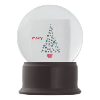 Feliz do cartão de Natal da árvore de Natal o que
