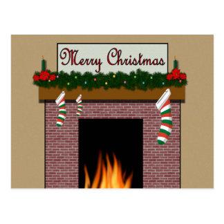 Feliz Natal 987 Cartao Postal