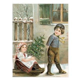 Feliz Natal a você! Cartão Postal
