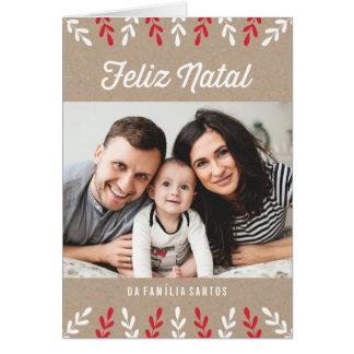 Feliz | natal Cartão de Natal