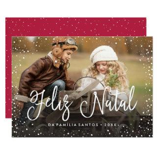 Feliz   natal Cartão de Natal Convite 12.7 X 17.78cm