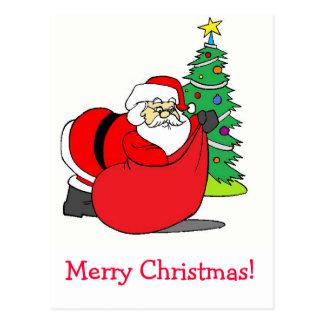Feliz Natal! Cartao Postal
