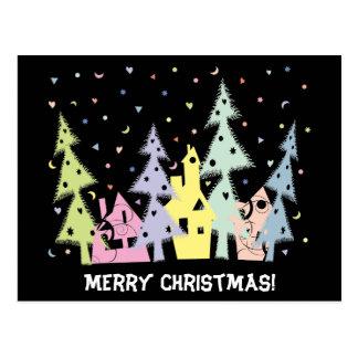 Feliz Natal! cidade Cartão Postal