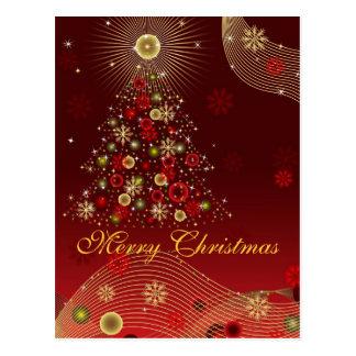 Feliz Natal do cartão Cartao Postal