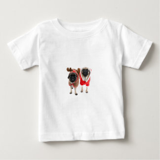 Feliz Natal dos Pugs T-shirt