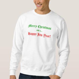 Feliz Natal e um ano feliz do judeu! Suéter