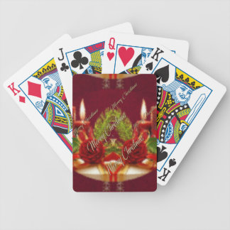Feliz Natal e um feliz ano novo Baralhos Para Pôquer