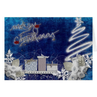 Feliz Natal festivo Cartão
