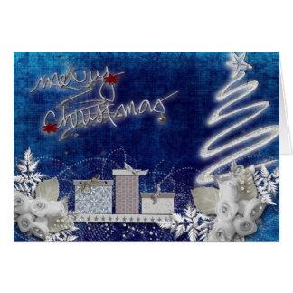 Feliz Natal festivo Cartão Comemorativo