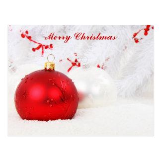 Feliz Natal festivo Cartão Postal