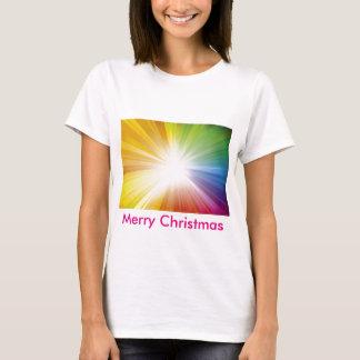 Feliz Natal/luz de Jesus Camiseta
