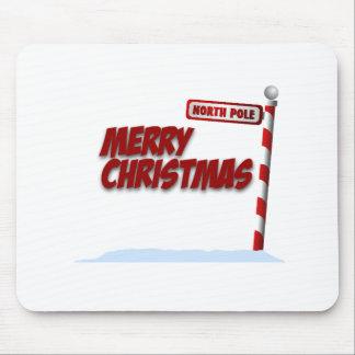 Feliz Natal Mousepad (paisagem)