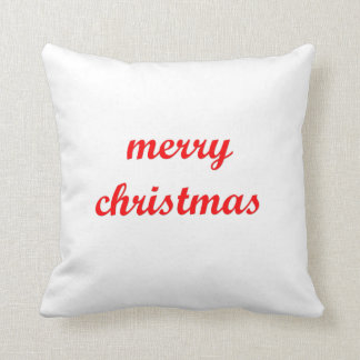 Feliz Natal no travesseiro Almofada