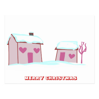 Feliz Natal, por Nekoni, a vila do papai noel Cartão Postal