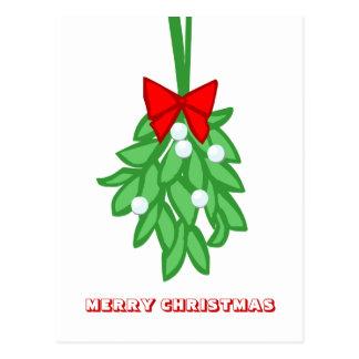 Feliz Natal, por Nekoni, Miseltoe Cartão Postal