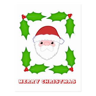 Feliz Natal, por Nekoni, por papai noel e por azev Cartão Postal