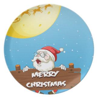 Feliz Natal Prato De Festa