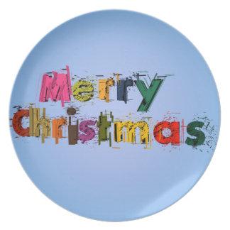 Feliz Natal Pratos De Festas