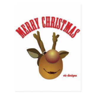 Feliz Natal Reiny Cartão Postal