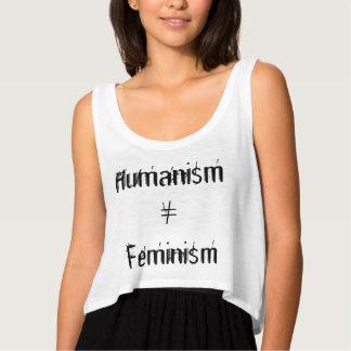 Feminismo do ≠ do humanismo regata