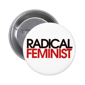 Feminista radical botons