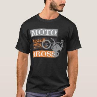 Feriado preto de Havaí do motocross dos homens Camiseta