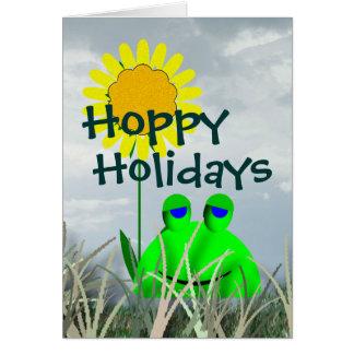 Feriados Hoppy Cartão Comemorativo