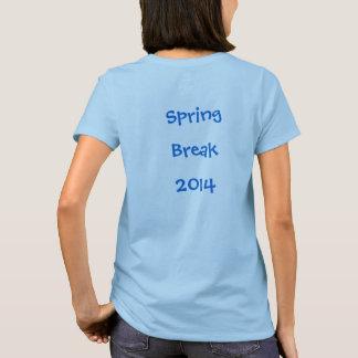 Férias da primavera 2014 camiseta