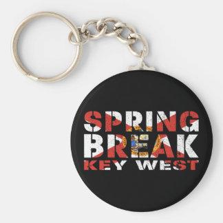 Férias da primavera Key West Florida Chaveiro