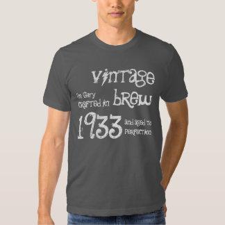 fermentação 1933 do vintage do presente de tshirts