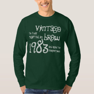 Fermentação 1983 do vintage do presente de t-shirt