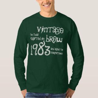 Fermentação 1983 do vintage do presente de tshirt