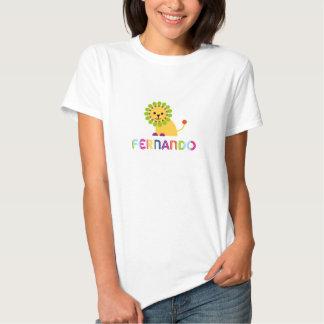 Fernando ama leões camisetas