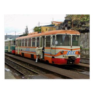 Ferrovie Circum Etnea - FCE Cartão Postal