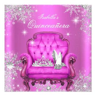 Festa de aniversário mágica da princesa convite personalizado