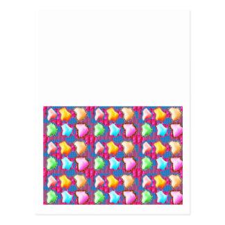 Festivo: A icebergue de GELO gosta de formas das p Cartao Postal