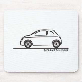 Fiat novo 500 Cinquecento Mouse Pad