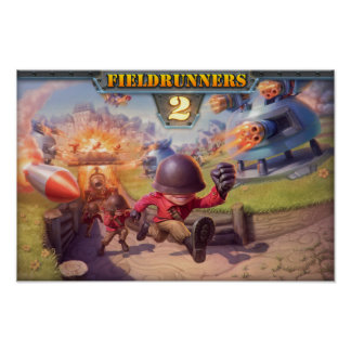 Fieldrunners 2 - Poster oficial