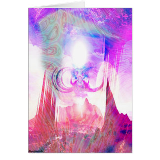 Figura 1,3 do anjo cartão comemorativo