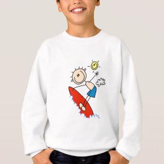 Figura camiseta e presentes da vara do menino do