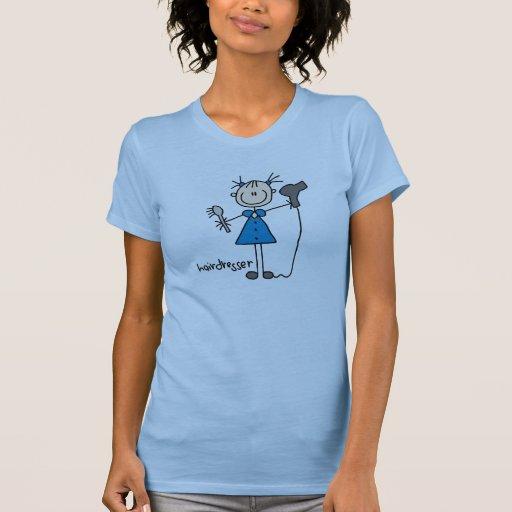 Figura da vara do cabeleireiro tshirts