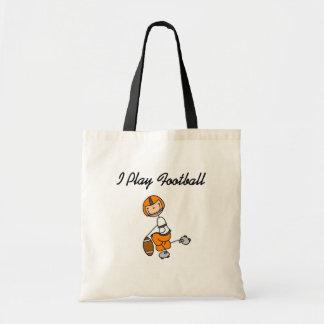 Figura futebol da vara - camiseta e presentes alar bolsas de lona