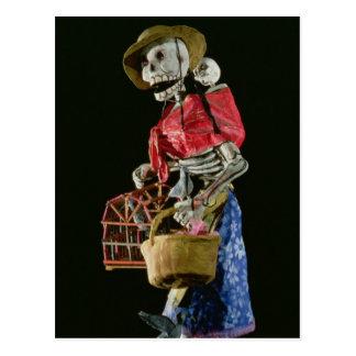 Figura para o dia do morto cartão postal